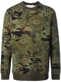 Givenchy Camouflage Print Sweatshirt  420 - Buy SS17 Online - Fast Delivery  Price at Farfetch