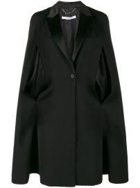 Givenchy Cape Detail Blazer  2 490 - Buy Online AW17 - Quick Shipping  Price at Farfetch