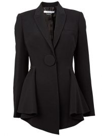Givenchy Flared Hem Blazer - Luisa World at Farfetch