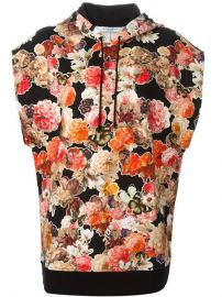 Givenchy Floral Hooded Top - Jofrand233 at Farfetch