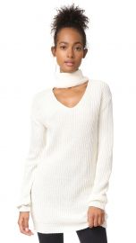 Glamorous Choker Sweater white at Shopbop