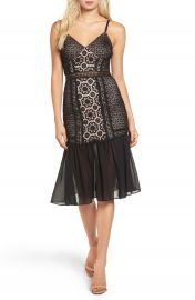 Glamorous Lace Midi Dress at Nordstrom