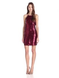 Glamorous Womenand39s Sleeveless All Over Sequin Dress at Amazon