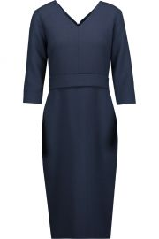 Goat Bentley wool- repe dress at The Outnet