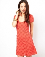 Godet dress by Free People at ASOS at Asos