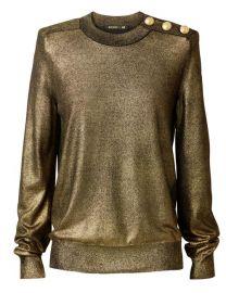 Gold Sweater  Balmain x HM at H&M