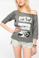 Graphic print top by Corner Shop at Urban Outfitters