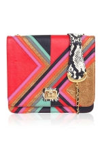 Graphic satchel by Angel Jackson at Angel Jackson
