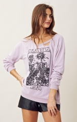 Grateful dead fleece by Chaser at Planet Blue