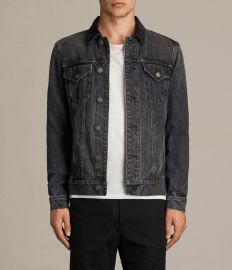 Gravel Denim Jacket by All Saints at All Saints