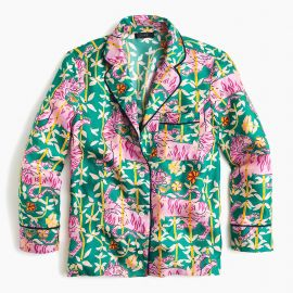 Green Bengal Tiger Pajamas Collection Drakes for J. Crew at J.Crew