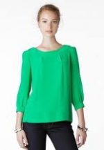 Green Bridgette Top at Kate Spade