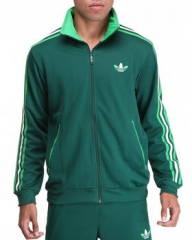 Green Split Stripe Firebird Jacket at Dr Jays