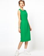 Green dress from ASOS at Asos