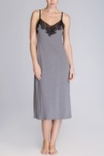 Grey and black gown by Natori at Natori