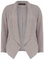 Grey draped blazer at Dorothy Perkins at Dorothy Perkins