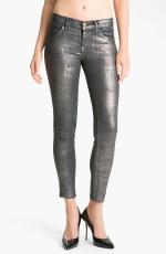 Grey metallic jeans like Lemons at Nordstrom