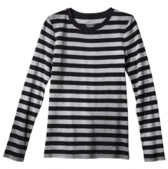 Grey striped tee by Merona at Target
