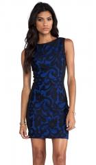 Greylin Renee Body Con Dress in Blue  REVOLVE at Revolve
