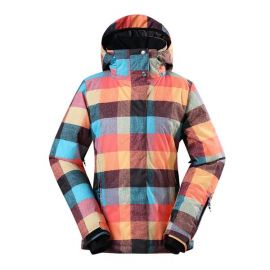 Gsou Snow Thermal Warm Waterproof Windproof Colorful Women\'s Ski Jackets at Gsou Snow