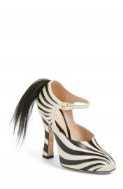 Gucci  Lesley  Zebra Stripe Pump  Women at Nordstrom