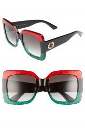 Gucci 55mm Square Sunglasses at Nordstrom