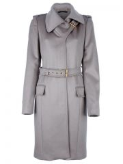 Gucci Belted Coat - at Farfetch