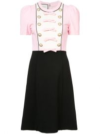 6a63068d5 WornOnTV: Erika's pink and black bow detail dress on The Real ...
