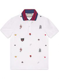 Gucci Cotton Polo with Embroideries  780 - Buy SS18 Online - Fast Global Delivery  Price at Farfetch