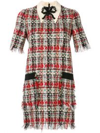 Gucci Embroidered Tweed Dress  3 400 - Buy AW17 Online - Fast Global Delivery  Price at Farfetch