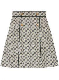 Gucci GG Canvas A-line Skirt - Farfetch at Farfetch