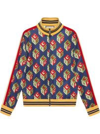 Gucci GG Wallpaper Technical Jersey Jacket  1 750 - Buy AW17 Online - Fast Delivery  Price at Farfetch