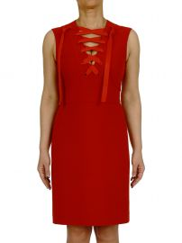 Gucci Lace Up Dress at Italist