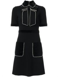 Gucci Pearl And Gem Embellished Dress  3 500 - Buy AW17 Online - Fast Delivery  Price at Farfetch