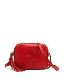 Gucci Soho Small Shoulder Bag Red at Neiman Marcus