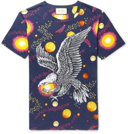 Gucci Space Eagle Tshirt at Mr Porter