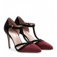 Gucci Suede Pumps at My Theresa