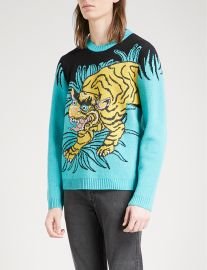 Gucci Tiger Jumper at Selfridges