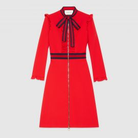 Gucci Viscose jersey dress at Gucci