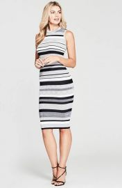 Guess Felice Striped Sweater Dress at Guess