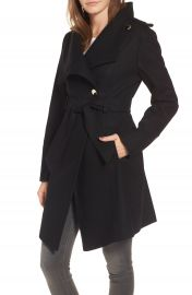 Guess Wrap Trench Coat at Nordstrom