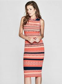 Guess by Marciano Felice Striped Sweater Dress  at Marciano