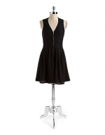 Guess fit and flare dress at Lord & Taylor