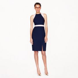 Gwen Colorblock Dress at J. Crew
