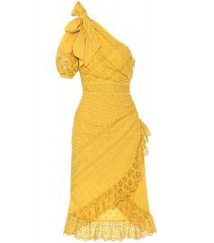 Gwyneth eyelet cotton dress at Mytheresa