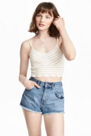 H and M Crocheted Top at H & M