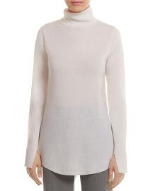HALSTON HERITAGE Wool-Cashmere Cutout Tunic Sweater at Bloomingdales