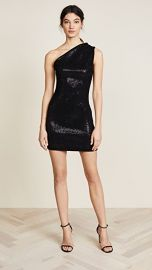 HANEY Valentina One Shoulder Mini Dress at Shopbop