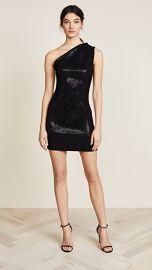 HANEY Valentina One Shoulder Mini Dress at Shopbop