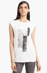 HELMUT Helmut Lang Graphic Muscle Tee at Nordstrom